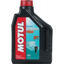 "Масло моторное Motul ""Outboard Tech 2T. Technosynthese"", 2 л"