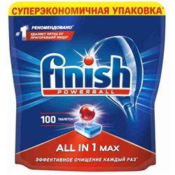 FINSH таблетки для ПММ ALL-IN-ONE, 100шт