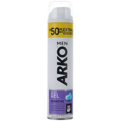 Гель для бритья ARKO MEN Extra Sensitive 200+50 мл
