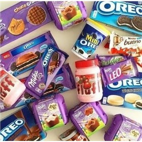 Нам сладко! Milka, Oreo, Nutella, Nestle, Dr.Pepper, Coca-Cola, Fanta, Turbo