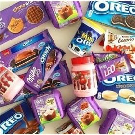 Нам сладко! Milka, Oreo, Nutella, Nestle, Dr.Pepper, Coca-Cola, Fanta, Turbo