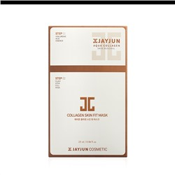 Маска для лица JAYJUN Cosmetic Collagen Skin Fit Mask 2 в 1 (10шт)