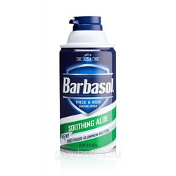 Пена для бритья Barbasol Soothing Aloe, 170 г.(USA)